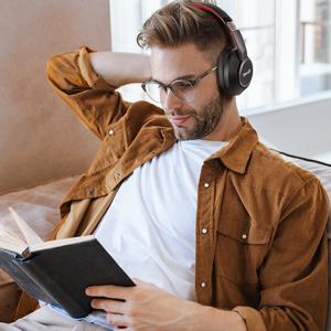 over ear wireless headphones