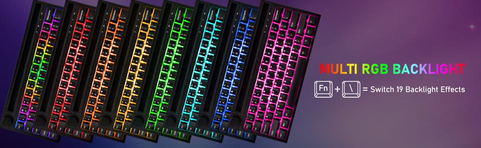Mechanical RGB gaming keyboard