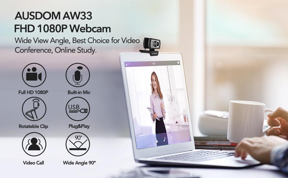 FHD 1080p Webcam