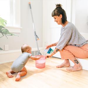 aunt fannies vinegar floor cleaner kitchen house clean