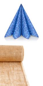 servietten blau