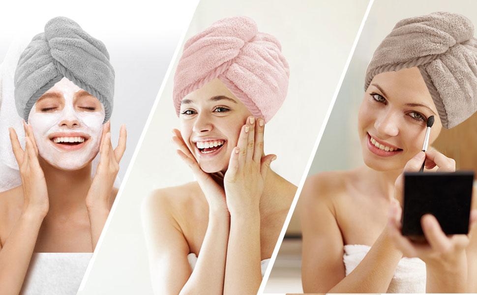 Wide Application make up shower mask and massage