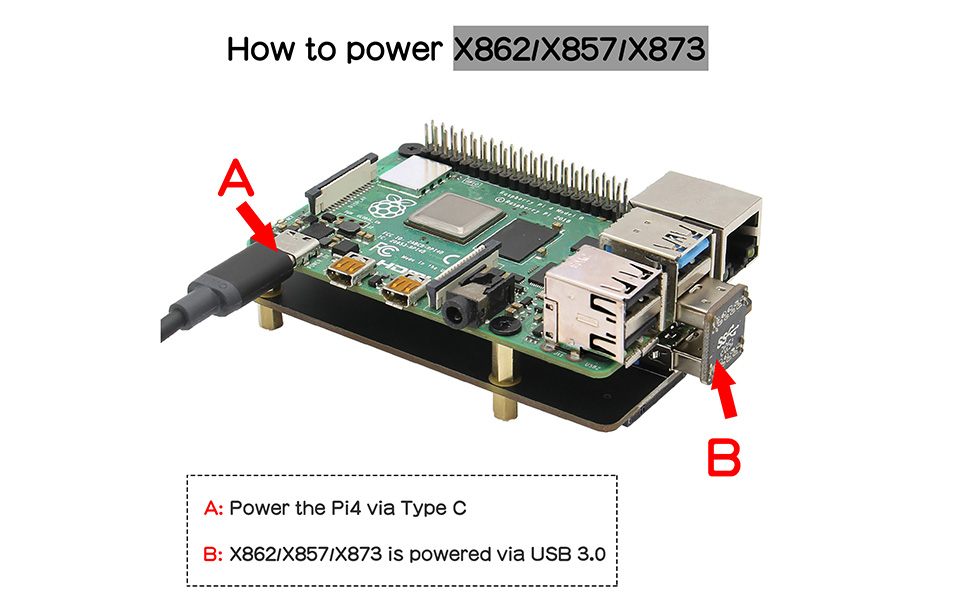 How to power X862