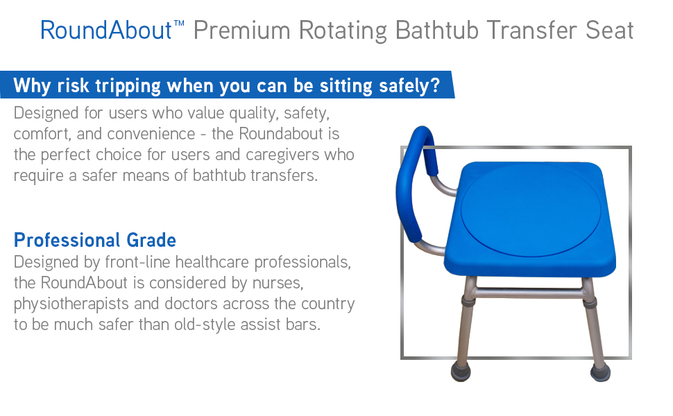 platinum health roundabout premium bath transfer seat