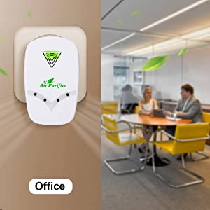 No noise work in office, and keep a fresh air!