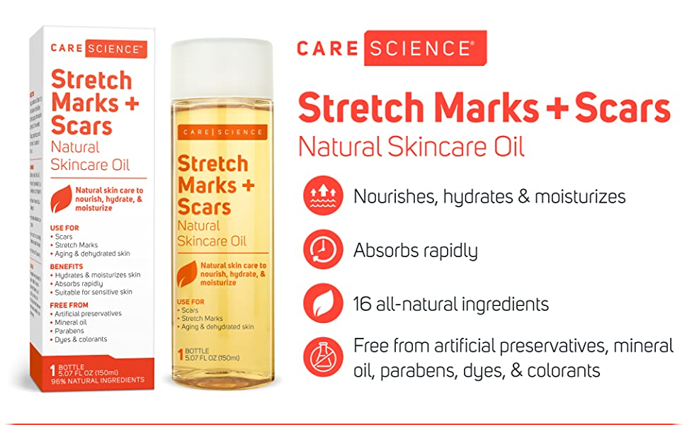 Care Science Natural Skin Care Oil Bio Bio-oil stretch marks scar aging dehydrated
