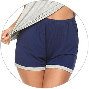 Women's Pajama Short Sleeve Sleepwear