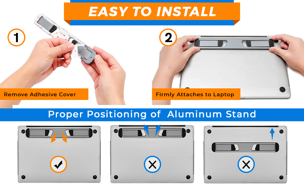 Easy install aluminum stand