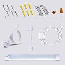 single light led bar light Utility Shop LightCeiling and Under Cabinet LightingLED lighting fixtures