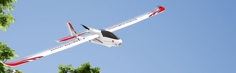 airplane rc hobby fpv glider aircarft remote control camera sailplane
