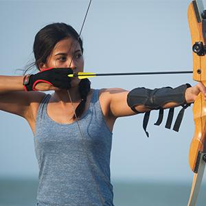 Archery glove for men