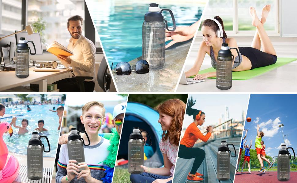 spring/summer/autumn/winter water bottles