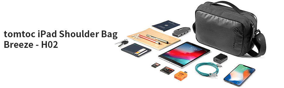 tomtoc iPad Mini 7.9-inch Shoulder Bag Breeze - H02