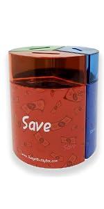 Save Share Spend Jar