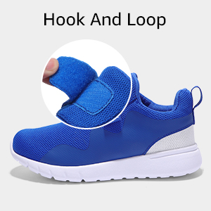 CLOSURE HOOK AND LOOP boys shoes