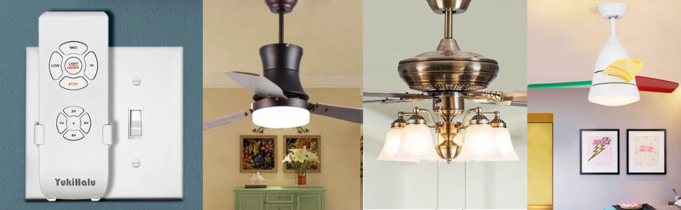 compatible with most of ceiling fan lights, wide replacement