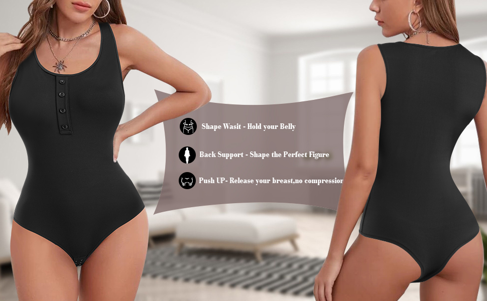 360°FIRM CONTROL TUMMY JUMPSUIT TOPS