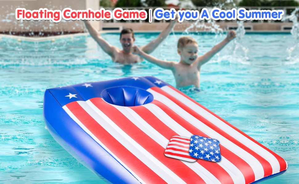 inflatable cornhole outdoor game