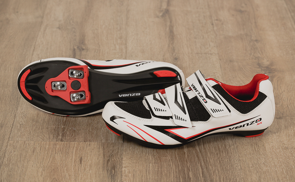 Road Cycling Bicycle Riding Shoes Delta Compatible Cleats for Road Racing & Spin Bikes Peloton