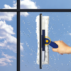 swivel design window squeegee for odd shaped windows curved edge small windows shower glass door