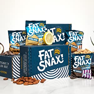 fat snax keto ketogenic cookie sampling jeff founder ceo sampling best low carb treats
