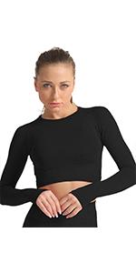 Seamless Yoga Gym Crop Top