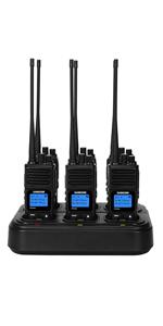 multi charger walkie talkies