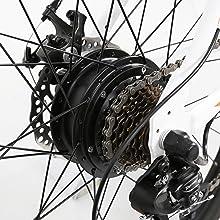 350W Rear Motor