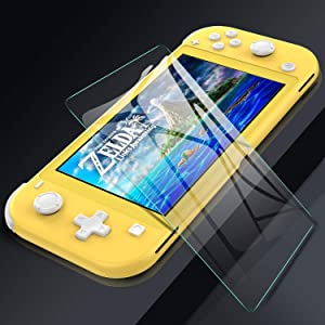 Screen protector Switch Lite,switch Lite case with screen protector,switch glass screen protector