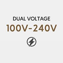 dual voltage curling iron