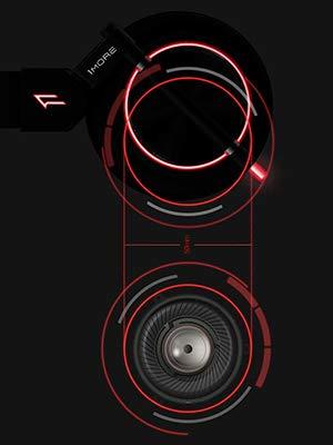 gaming headphone led light