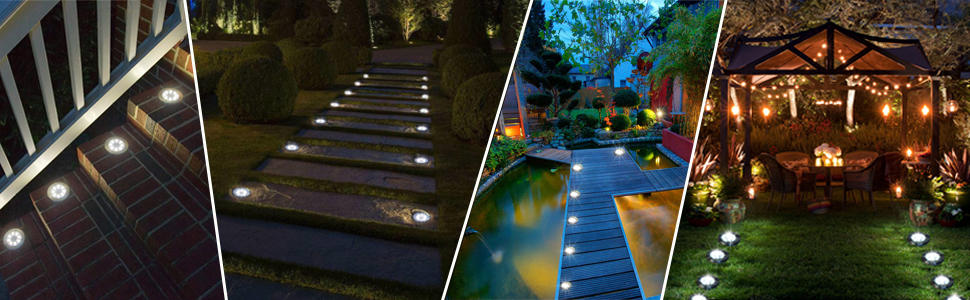 solar ground lights widely applications
