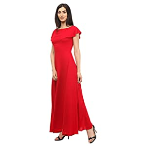 Red Maxi Dress for women