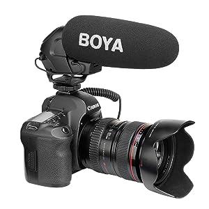 boya shotgun microphone