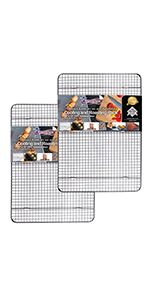 2 PACK 10X15 JELLY ROLL COOLING RACK