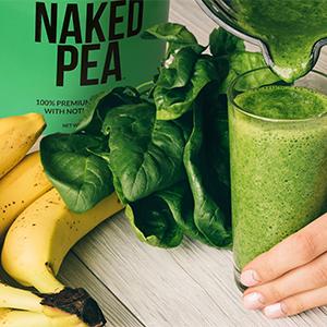 pea protein shake, vegan protein shake, pea protein smoothie, vegan protein smoothie
