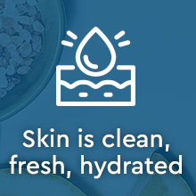 Puracy Natural Body Wash: Citrus & Sea Salt - Skin is clean, fresh, hydrated