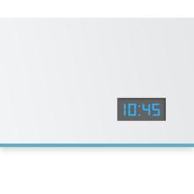 Digital Uhr für Spiegel mit blauen Ziffern