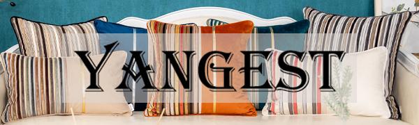 Yangest pillow cover logo