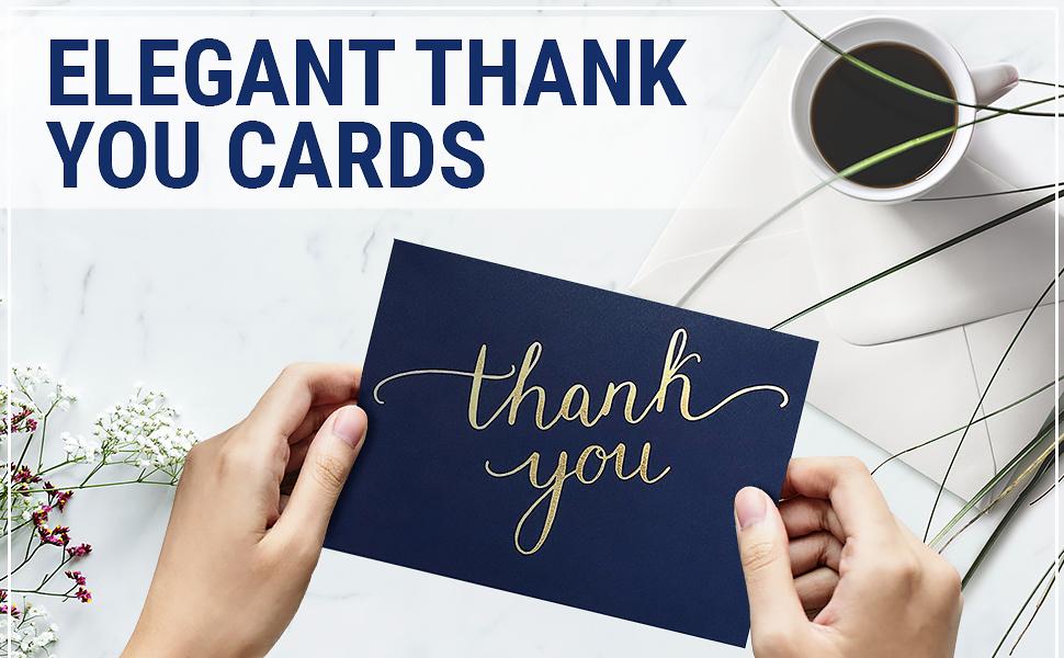 elegant thank you cards envelopes wedding bridal shower blue boy box thanks theme graduation small