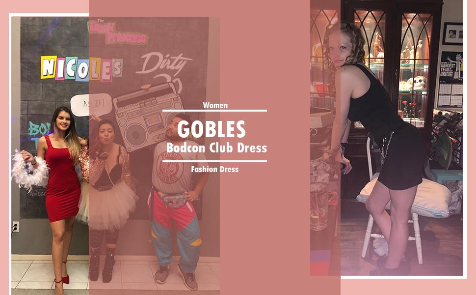 GOBLES  SEXY MINI CLUB DRESS