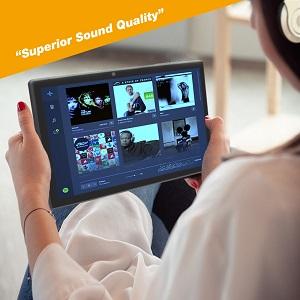 tablet dual speakers