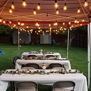décoration eclairage pergola guilande guirelandes sapin guinguettes couleur decorative15m lumineux
