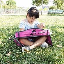 Parque Silla de coche Entretener a los ni/ños en Avi/ón Tren Cochecito MesitaDeJuego1+ Mesa de juego de viaje en coche para ni/ños con puerta USB 2.0 para Tablet Bandeja para Dibujar Smartphone