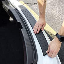 Image Instructing To Curve Bumper Cover To Form With Bumper Curvature As You Install