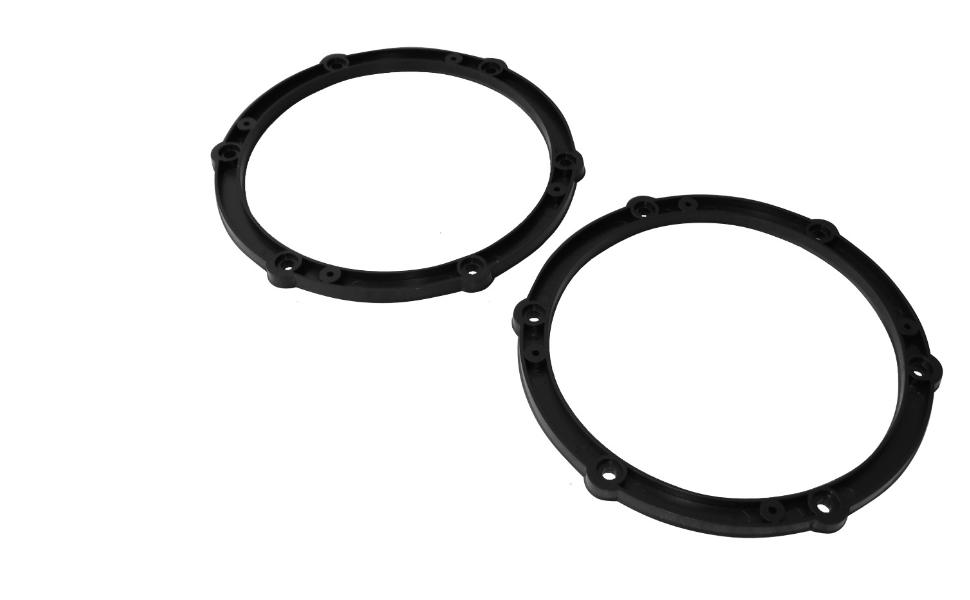 Aerzetix C16610 2 X Adapter Halterungen Für Lautsprecher Türen 165 Mm Für Auto Küche Haushalt