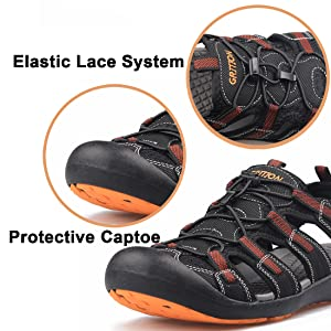 Protective Captoe & Elastic Bungee System