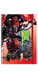 LEGO Ninjago Movie Kai Notebook Journal