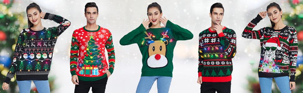 Unisex Ugly Xmas Sweater