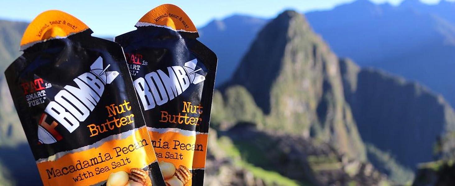 fat bombs hazel nut slim jim pork rinds performance nut butter travel nut butters rx bar nut butter